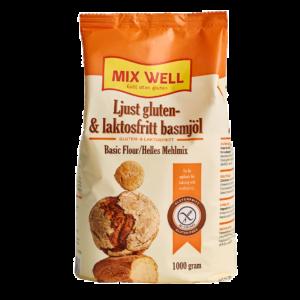 Mix Well - Ljust gluten- & laktosfritt basmjöl 1000g