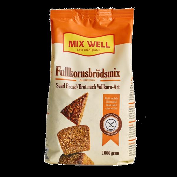 Mix Well -Fullkornsbrödsmix 1000g