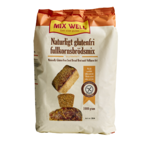 Mix Well - Naturligt glutenfri fullkornsbrödmix 1000g