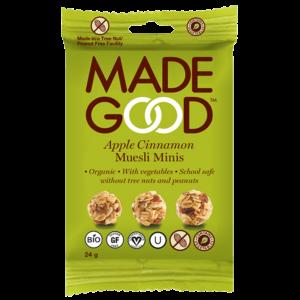 Made Good Muesli Minis - Apple Cinnamon