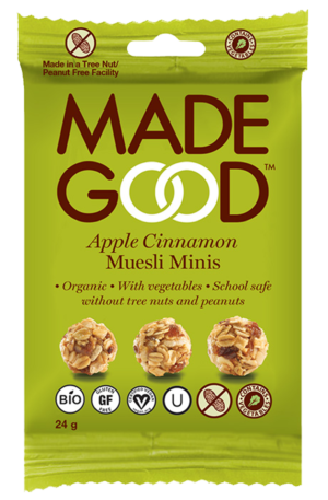 Made Good Muesli Minis - Apple Cinnamon