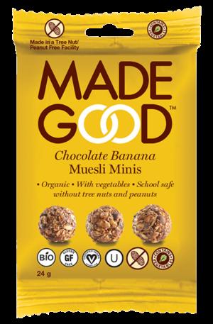 Made Good - Muesli Minis Chocolate Banana