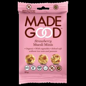 Made Good Muesli Minis - Strawberry