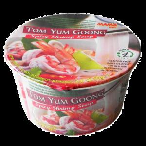 Mama - Glutenfria risnudlar i skål (Tom Yum Goong)