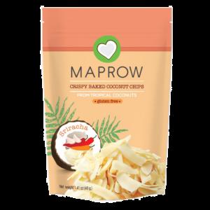Maprow - Crispy Coconut Chips Sriracha