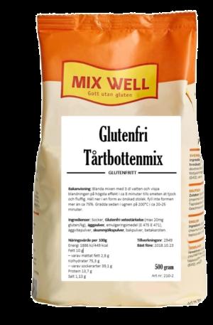 Mix Well - Glutenfri tårtbottenmix 500g
