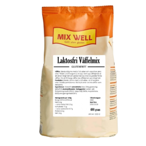 Mix Well - Laktosfri våffelmix 400g