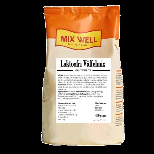 Mix Well - Laktosfri våffelmix 400g