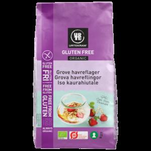 Urtekram - Glutenfria Havreflingor EKO
