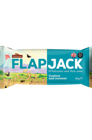 Wholebake Flapjack - Cashew And Cocunut