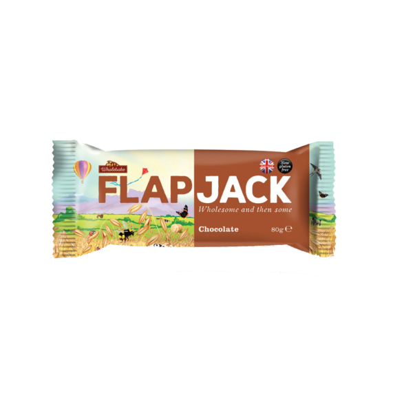 Wholebake Flapjack - Choklad