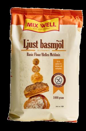 MixWell - Ljust Basmjöl 1000g
