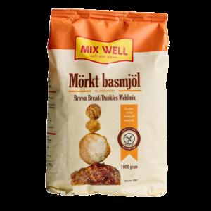MixWell - Mörkt Basmjöl 1000g