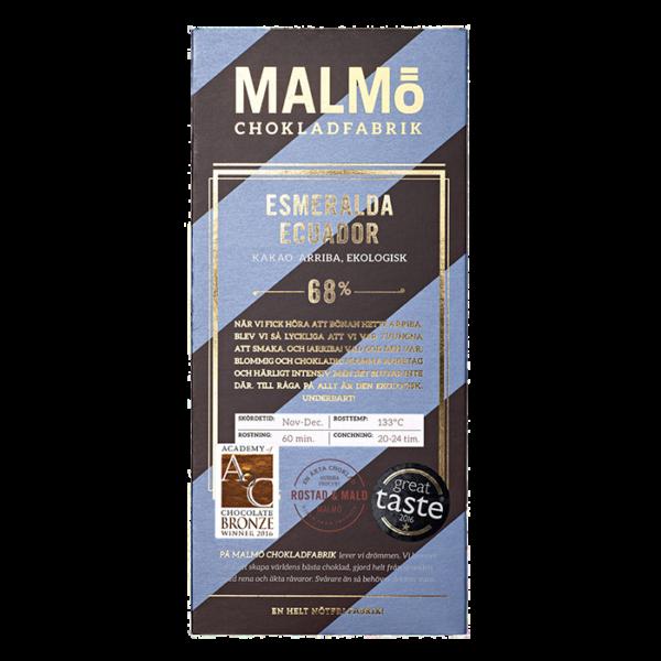 Malmö Chokladfabrik - Esmeralda Ecuador 80g
