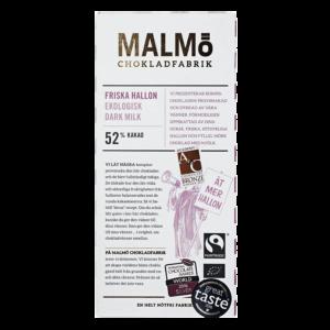 Malmö Chokladfabrik - Friska Hallon 80g