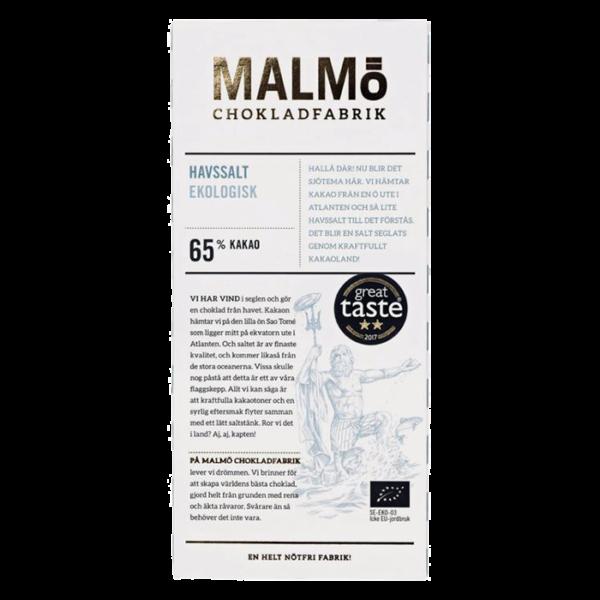 Malmö Chokladfabrik - Havssalt 80g