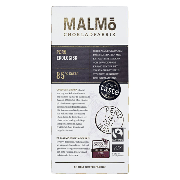 Malmö Chokladfabrik - Peru 80g