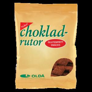 Olda - Chokladrutor 40g
