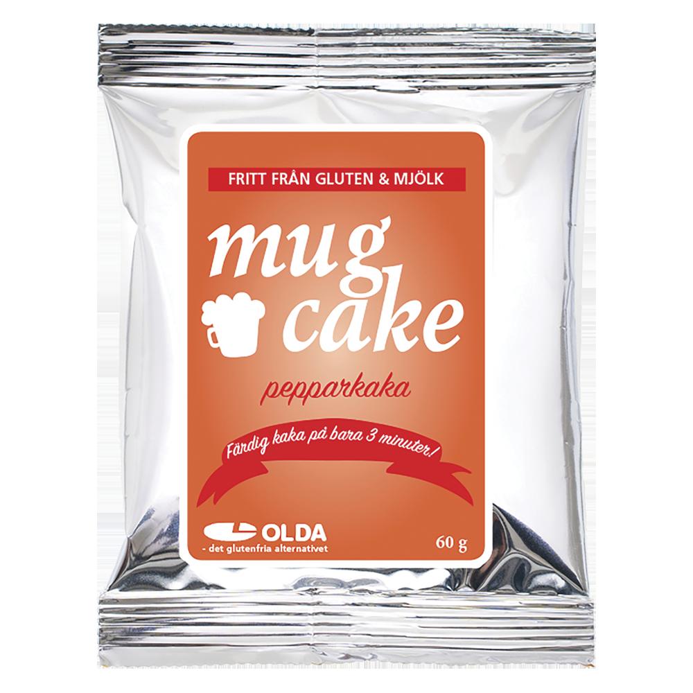 mugcake utan mjöl