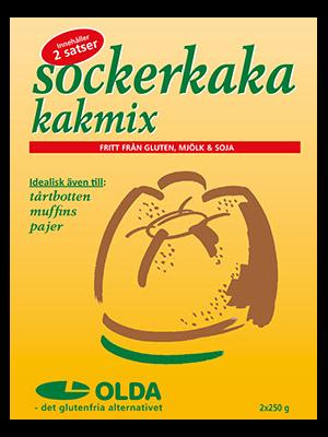Olda - Sockerkaka 2x250g