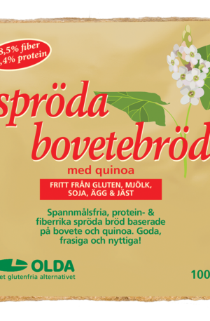 Olda - Spröda Bovetebröd 100g